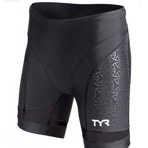TYR Sport Women's 6-Inch Triathlon/Bike Shorts